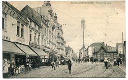 CPA - Carte Postale - Belgique - Blankenberghe - Place De La Gare - 1919 (SVM12013) - Blankenberge