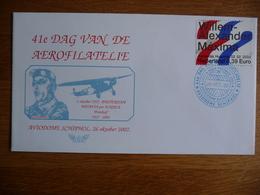 (3) Nederland 2002 41e DAG VAN DE AEROFILATELIE FDC SEE SCAN - FDC