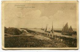 CPA - Carte Postale - Belgique - Blankenberghe - Estacades à Travers Les Dunes - 1911 (SVM12014) - Blankenberge