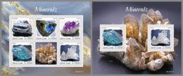 SIERRA LEONE 2020 MNH Minerals Mineralien Mineraux M/S+S/S - OFFICIAL ISSUES - DH2013 - Minéraux