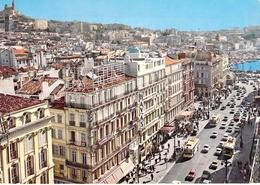 13 - Marseille - La Canebière Et Un Coin Du Vieux Port - The Canebière, City Centre