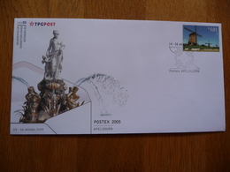(3) Nederland 2005, Beursenvelop, Exhibition Cover, POSTEX APELDOORN FDC - FDC