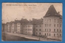 COLMAR ALSACE CASERNE QUARTIER MACKER - Colmar
