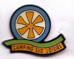 FF10 Pin's Camping Sud Loisirs Agde Var Roue Moulin  Mill Achat Immédiat - Villes