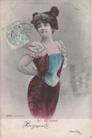 G30- ARTISTE  FEMME - FRAU - LADY - M.lle DE PEBREL - ALTEROCCA - TERNI  - (OBLITERATION DE 1905) - Artisti