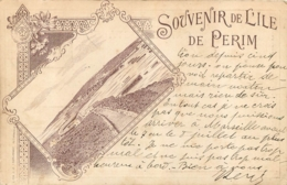 YEMEN SOUVENIR DE L'ILE DE PERIM  1904 - Yémen