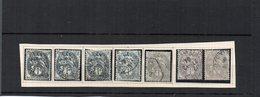 Blanc N°107 Oblitéré (X7) - 1900-29 Blanc