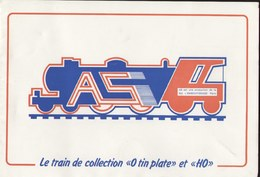 Catalogue AS A.S. L'emboutissage 1985 Train O TIN PLATE - Livres Et Magazines
