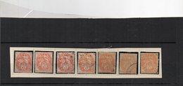 Blanc N°109 Oblitéré (X7) - 1900-29 Blanc