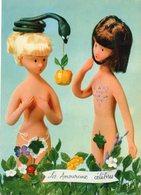 Les Amoureux Célèbres - ADAM Et EVE - Peynet