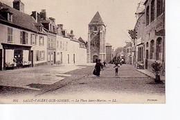 Saint Valery Sur Somme, La Place Saint Martin - Saint Valery Sur Somme
