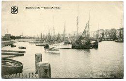 CPA - Carte Postale - Belgique - Blankenberghe - Bassin Maritime - 1920 (SVM12018) - Blankenberge