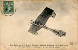 025 610- CPA - France - Les Aviateurs De La Grande Semaine D'Aviation De Rouen - Aviadores