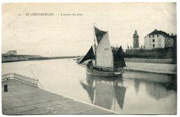 CPA - Carte Postale - Belgique - Blankenberghe - L'Entrée Du Port - 1920 (SVM12019) - Blankenberge