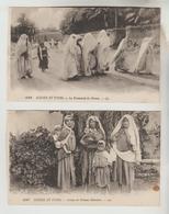 3 CPSM MOYEN ORIENT SCENES ET TYPES D'ORIENT - Promenade Du Harem, Femmes Bédouines, Jeunes Filles Bédouines - Cartoline