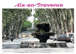 13 - Aix En Provence - Le Cours Mirabeau Et Ses Fontaines - Aix En Provence