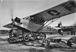 Salon International Aéronautique 19éme Avion Piper Cub J-3 Train Atterrissage Bonmartini Tout Terrain - 1946-....: Era Moderna