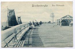 CPA - Carte Postale - Belgique - Blankenberghe - Sur L'Estacade - 1913 (SVM12020) - Blankenberge