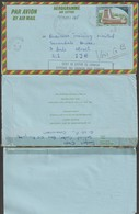 Cameroun 1987. Aérogramme Surchargé Usage Non Philatélique. Non Catalogué Avec Surcharge, Création Locale - Cameroun (1960-...)