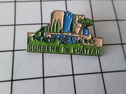 816c Pin's Pins / Beau Et Rare / THEME : VILLES / CORBERE LE CHATEAU - Villes