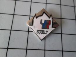 2119 Pin's Pins / Beau Et Rare / THEME : VILLES / ECULLY - Villes
