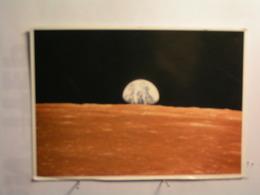 Astronomie - Superbe Lever De Terre Au Dessus De L'horizon Lunaire - Mission Apollo 12 En Novembre 1969 - Sterrenkunde