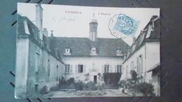 21CARTE DE VITTEAUXN° DE CASIER 1296 NCIRCULE - Francia