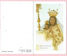 Bidprentje - Alice THEETEN Wed. Octave BAKEROOT - Poperinge 1910 - 1987 - Godsdienst & Esoterisme