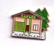 F227 Pin's  Garage Auddino à Jury Moselle Sapin Achat Immédiat - Villes