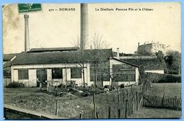 CPA 26 Drôme Romans Distillerie D'absinthe Premier Fils - Romans Sur Isere