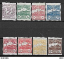 San Marino 1903, Lot Of Different Stamps - San Marino