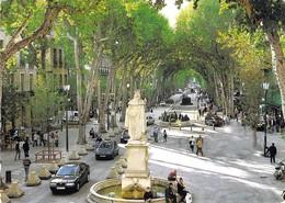 13 - Aix En Provence - Le Cours Mirabeau - Aix En Provence
