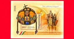 Nuovo - MNH - UNGHERIA - 2011 - Nuova Costituzione Di Ungheria - Con Numerazione Nera - 2011 Ft - Hojas Bloque