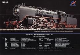 Catalogue ASTER '80 Spur 1 1:32 - Deutsche Reichsbahn Br 03 - En Allemand,Anglais Et Japonais - Allemand