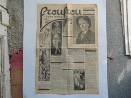 VIEUX PAPIERS - JOURNAL : FROUFROU N°54 - Parait Le Mercredi - Journaux - Quotidiens