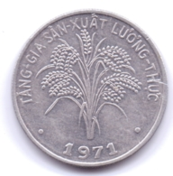 VIETNAM 1971: 1 Dong, FAO, KM 12 - Vietnam