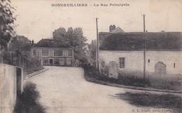 Hondevilliers La Rue Principale - France