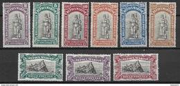 San Marino 1918, Mi. Nr. 53-61 - Ungebraucht