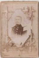 I1- 31) TOULOUSE - CARTE PHOTO GOMEZ - TOULOUSE  - 16  X 11 - VERS 1890 - MILITAIRE  DU 17° REGIMENT SUR COL - 2 SCANS ( - Toulouse