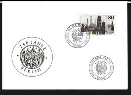 Germany Ill. Cover Berlin 1987 750 Jahre Berlin  (G109-58) - Cartas