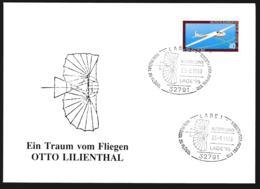 Germany Ill. Cover Lage 1996 Ein Traum Von Fliegen, Otto Lilienthal  (G109-58) - Cartas