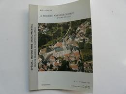 BULLETIN DE LA SOCIETE ARCHEOLOGIQUE D'EURE ET LOIR N°3 - Archéologie