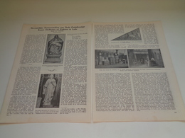 """Origineel Knipsel ( 2016 ) Uit Tijdschrift """" Ons Volk """"  1929  :    Lede   2 Bladzijden - Non Classés"""