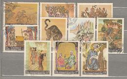 YEMEN KINGDOM 1967 Airmail Painting Comlepe Set Used (o) Mi 355-364 #17366 - Yémen
