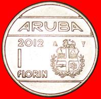 · NETHERLANDS (1986-2013): ARUBA ★ 1 FLORIN 2012!  LOW START ★ NO RESERVE! - [ 4] Colonies
