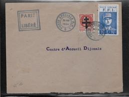 Thème De Gaulle - Libération - France - Enveloppe - TB - De Gaulle (General)