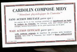 CARBOLIN COMPSE MIDY - Publicité