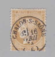 T 16 Chalon-s-Saone 16 Avril 76 S / N° 59 ( Dept 70) Saone Et Loire - Marcophilie (Timbres Détachés)