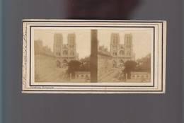 PS- Photo Stéréo / Photographe Richebourg (1810/1875) / Paris / Eglise Notre Dame - Photos Stéréoscopiques