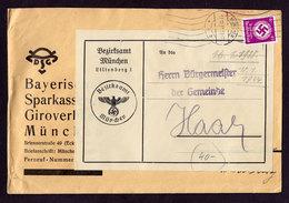 DR Brief MÜNCHEN - Haar - 17.12.37 - Mi. Dienst 142 - Dienstpost